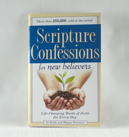SCRIPTURE CONFESSIONS FOR HEALING by K and M PROVANCE /27 Page Mini-Book-Pamphlet
