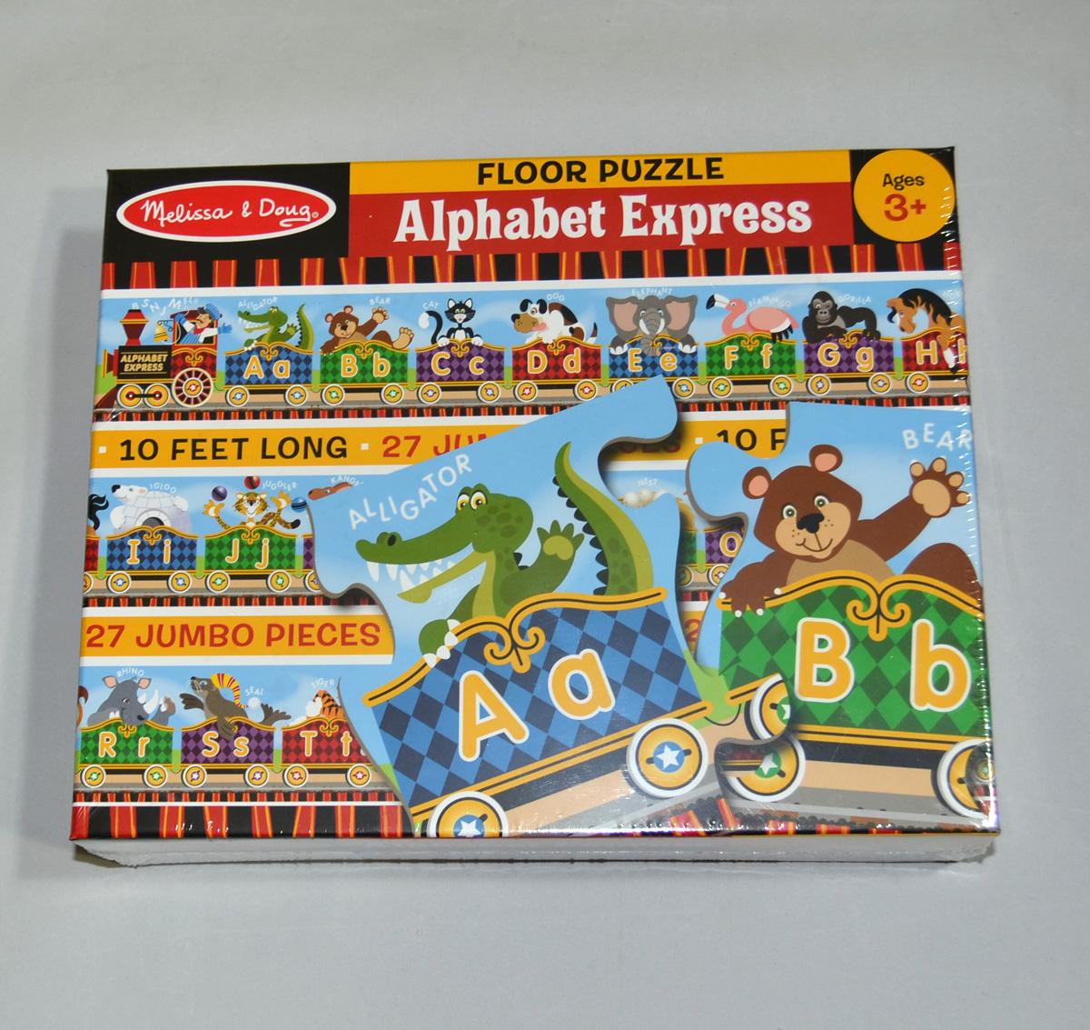 Melissa Doug Floor Puzzle Alphabet Express - Melissa and doug floor puzzle