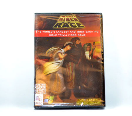 The Great Bible Race (DVD Game)